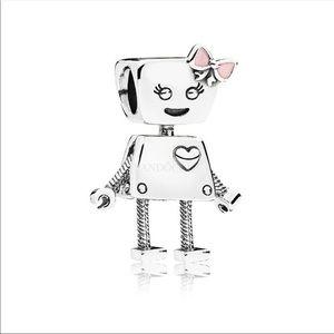 PANDORA Charm Bella Bot Sterling Silver